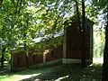 Piekary Śląskie, kaplica Gradusy - schody symbolizujące schody w pretorium Piłata 02.JPG