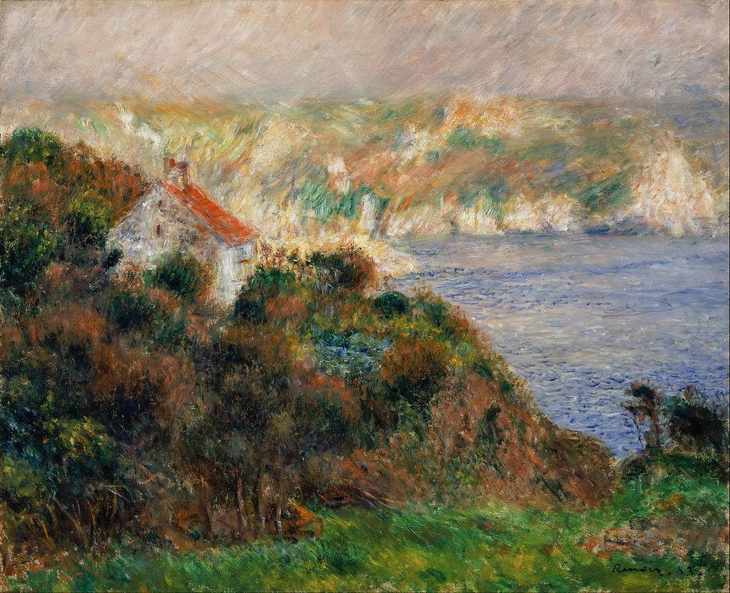 Pierre Auguste Renoir - Fog on Guernsey (Brouillard à Guernsey) - Google Art Project