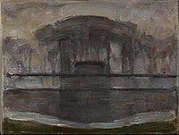 Piet Mondriaan - Geinrust farm in the mist - 0334280 - Kunstmuseum Den Haag.jpg