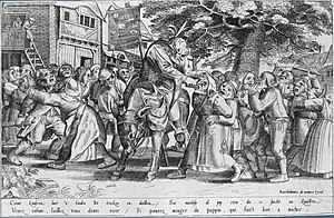 Pieter van der Borcht the Elder - The Tooth Puller