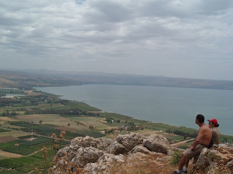 מבט מגובה ההר