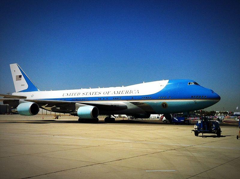 """מטוסי נשיא ארה""""ב בישראל"""