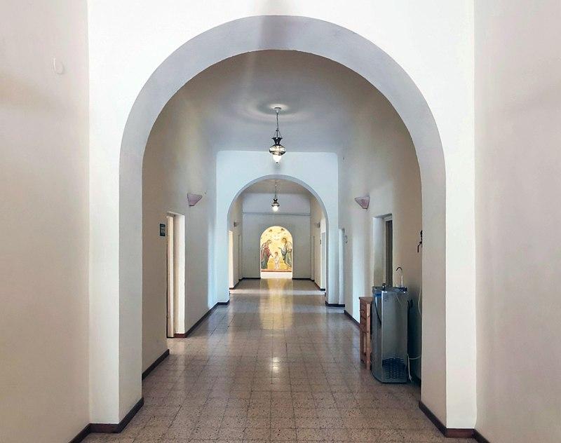 במנזר דיר ראפאת