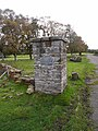 Pillar at Featherstone POW camp - geograph.org.uk - 1534326.jpg