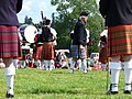 Pipe Band, World Highland Games, Callander - geograph.org.uk - 222354.jpg