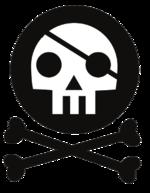 סמליל מפלגת הפיראטים