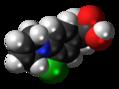 Pirprofen molecule spacefill.png