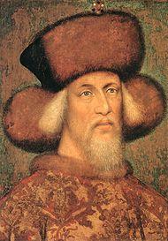 Pisanello portréja Zsigmondról 1433 körül
