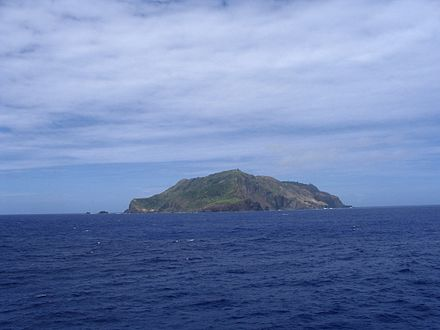 West side of the Pitcairn Islands Pitcairn Island In The Distance.jpg
