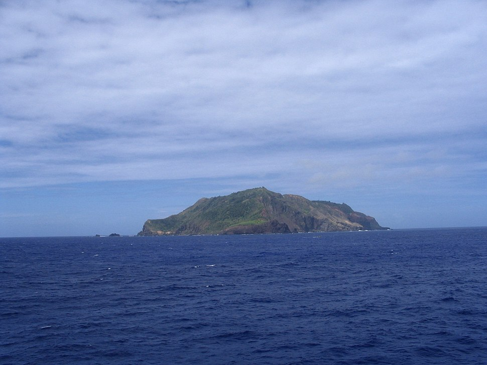 Pitcairn Island In The Distance