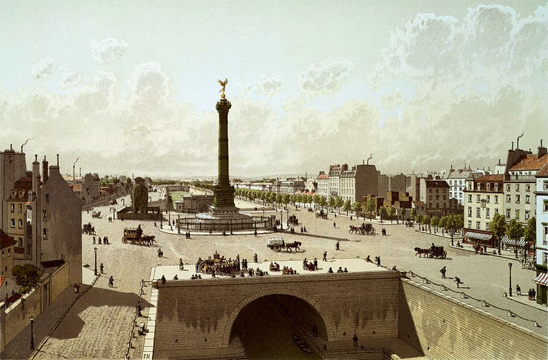 Fichier:Place de la Bastille, 1841.jpg