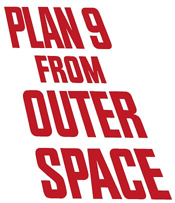 Deutsch: Logo von Plan 9 From outer Space