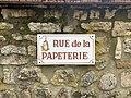 Plaque Rue Papeterie - Vault-de-Lugny (FR89) - 2021-05-17 - 2.jpg