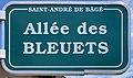 Plaque allée Bleuets St André Bâgé 1.jpg