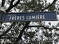 Plaque de la Place des Frères Lumière à Disneyland Paris (France).JPG