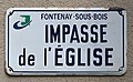 Plaque impasse Église Fontenay Bois 2.jpg