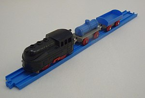 Plarail - The first electric Plarail train from the 'Electric Pla-Train Set'.