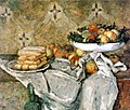 Plate with fruits and sponger fingers, by Paul Cézanne.jpg