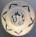 Plate with male bust, Teruel, Spain, 19th century AD, ceramic - Museo Nacional de Artes Decorativas - Madrid, Spain - DSC08197.JPG