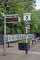 Platform furniture, Heaton Chapel railway station (geograph 4005098).jpg