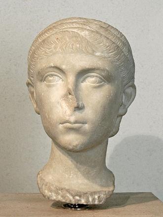 Fulvia Plautilla - Head of Plautilla. National Roman Museum - Palazzo Massimo alle Terme