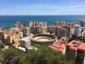 Plaza de toros de La Malagueta (Malaga Bullring) from Mirador del Gibralfaro lookout - Spain.png