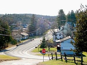 Plevna, Ontario - Highway 509 in Plevna