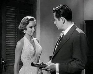 Plunder of the Sun - Diana Lynn and Glenn Ford in the film