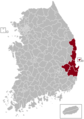 Pohang Postal central office precinct map.png