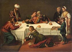 Polidoro da Lanciano: Anointing of Christ in Bethany