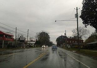 "<a href=""http://search.lycos.com/web/?_z=0&q=%22U.S.%20Route%2017%22"">U.S. Route 17</a> in Pollocksville, March 2015"