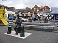 Poole, Baden-Powell memorial and the Jolly Sailor - geograph.org.uk - 1406626.jpg