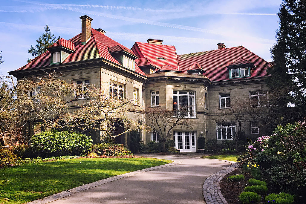 Portland, OR — Pittock Mansion