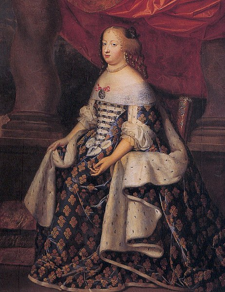 Bestand:Portrait of Marie Thérèse of Austria as Queen of France by Charles Beaubrun.jpg