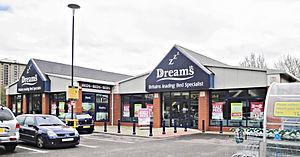 Dreams (bed retailer) - Dreams store in Portsmouth, England
