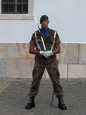 Rapid Reaction Brigade (Portugal) - A soldier of Regimento de Cavalaria N.º 3.