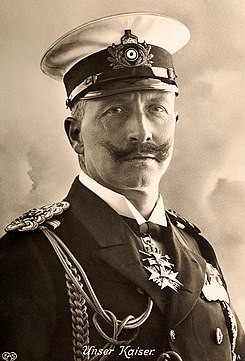 Postcard Kaiser Wilhelm II of Germany circa 1910.jpg