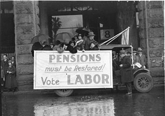 New South Wales state election, 1935 - Campaigning in 1934