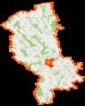Powiat ostrołęcki location map.png