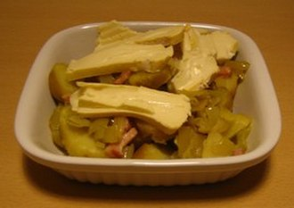Lardon - Tartiflette with lardons