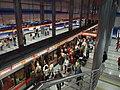 Praha, Prosek, stanice metra Prosek, vlak.jpg