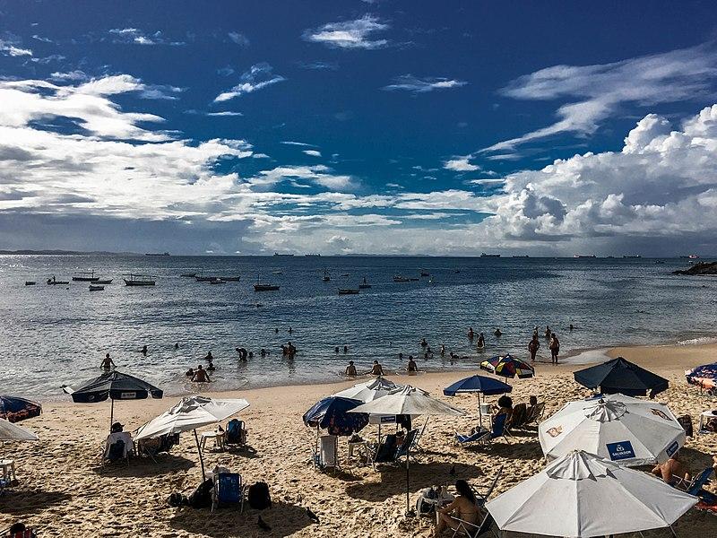 Praias de Salvador próprias para banho