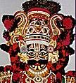 Prathibha Shetty Yakshaloka USA Indrajitu villain.jpg