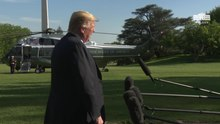 File:President Trump Delivers a Statement Upon Marine One Departure April 27 2019.webm