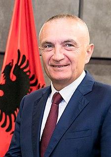 Ilir Meta President of Albania