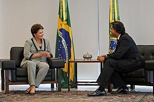 Brazil–Canada relations -  Jamal Khokhar, Ambassador of Canada to Brazil, meets with Brazilian President Dilma Rousseff