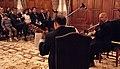 Presidente Rafael Correa y Canciller Fander Falconí asisten a concierto de dúo Paganini (4013602231).jpg