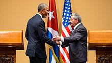 Press conference%2C Havana