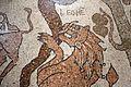Prete pantaleone, mosaico del pavimento del duomo di otranto, 1163-1166, 06 leone.jpg