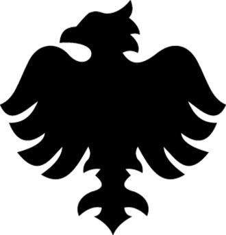 1. FC Kattowitz - Logo of FC Preußen Kattowitz, ca. 1905–21